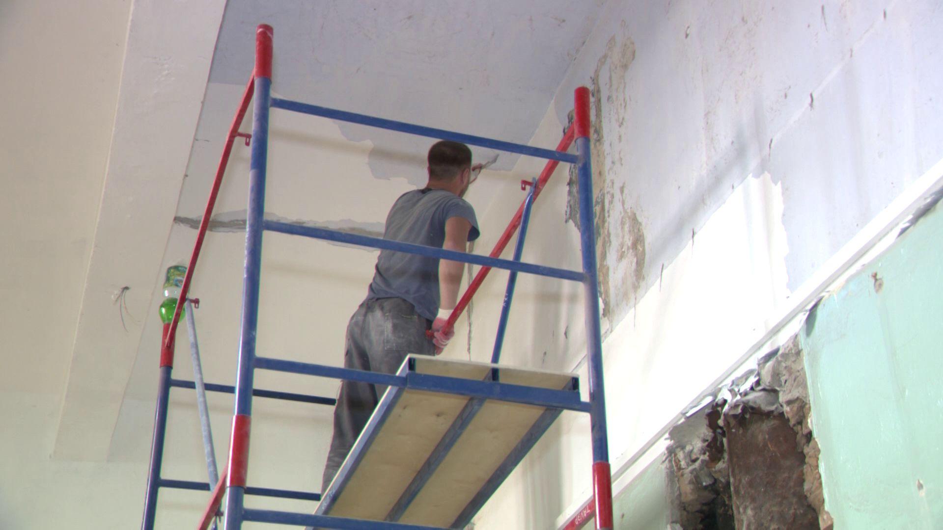 В Собиновском училище идет капитальный ремонт
