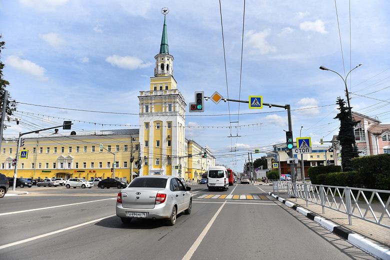 В Ярославле в рамках нацпроекта обновят 10 светофоров
