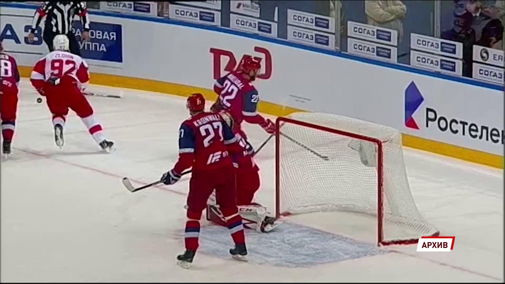 В первом матче КХЛ «Локомотив» встретится в домашнем матче с московским «Спартаком»