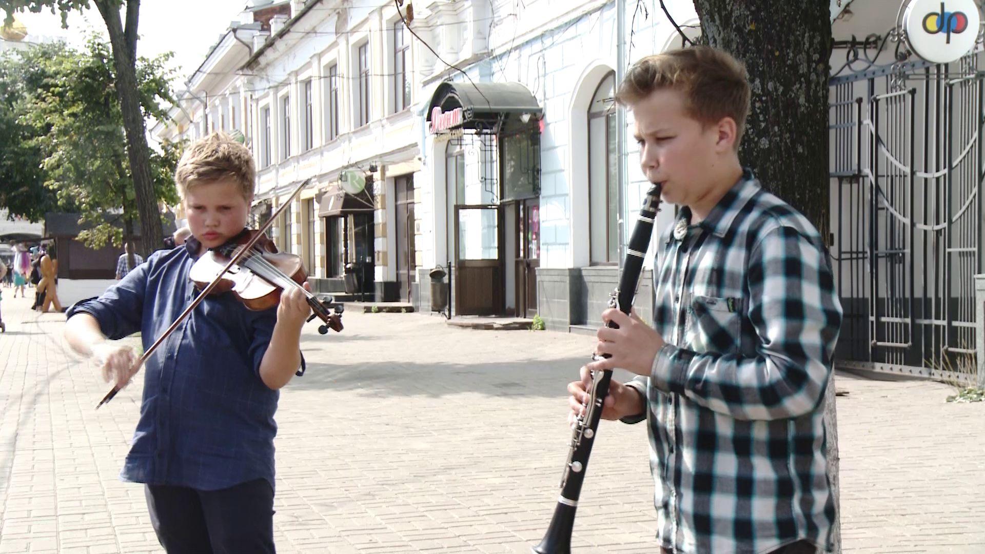 Ярославские уличные музыканты превращают детскую мечту в дело жизни