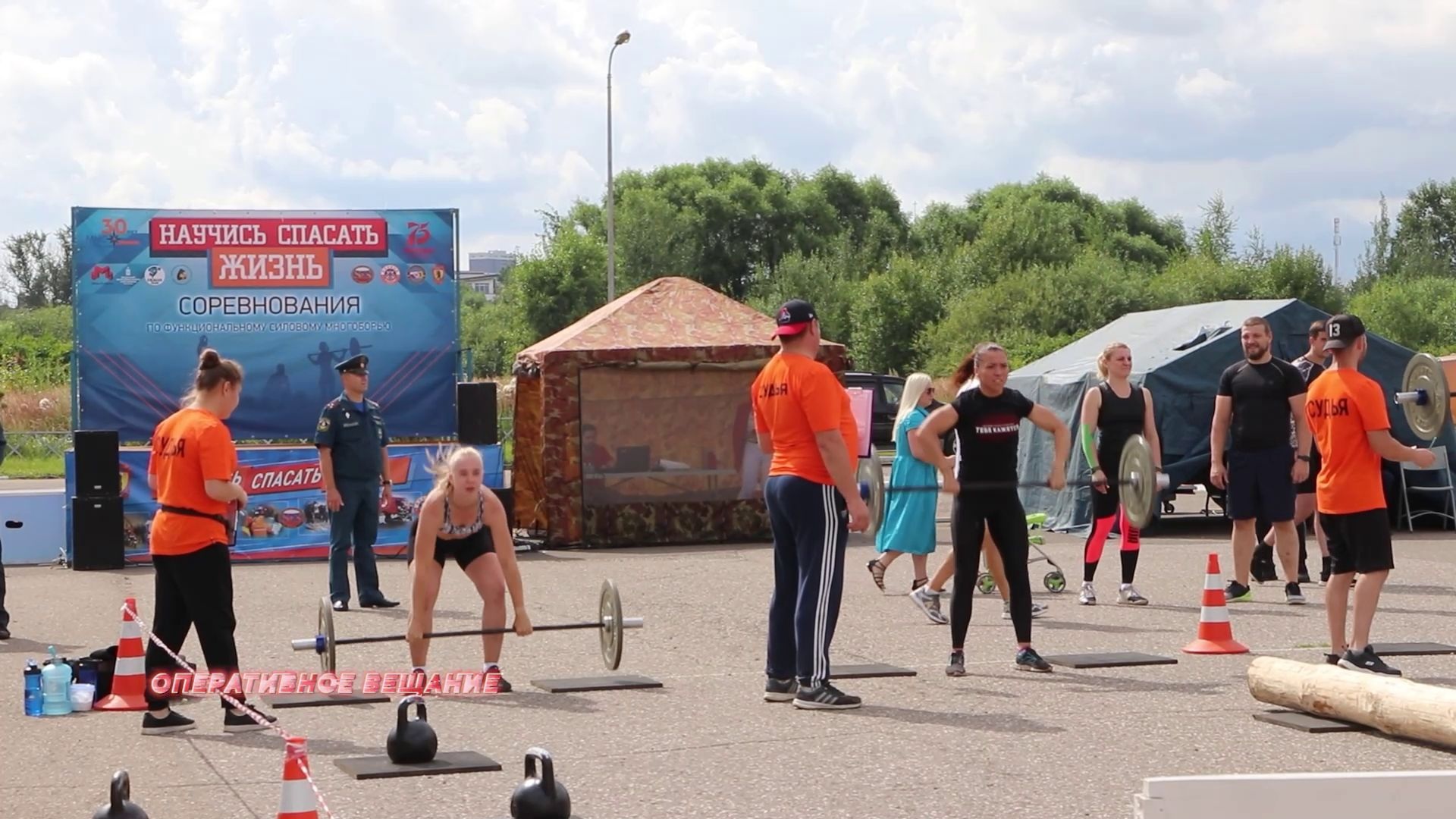 В Ярославле прошли соревнования спасателей по многоборью: проявили себя как мужчины, так и женщины