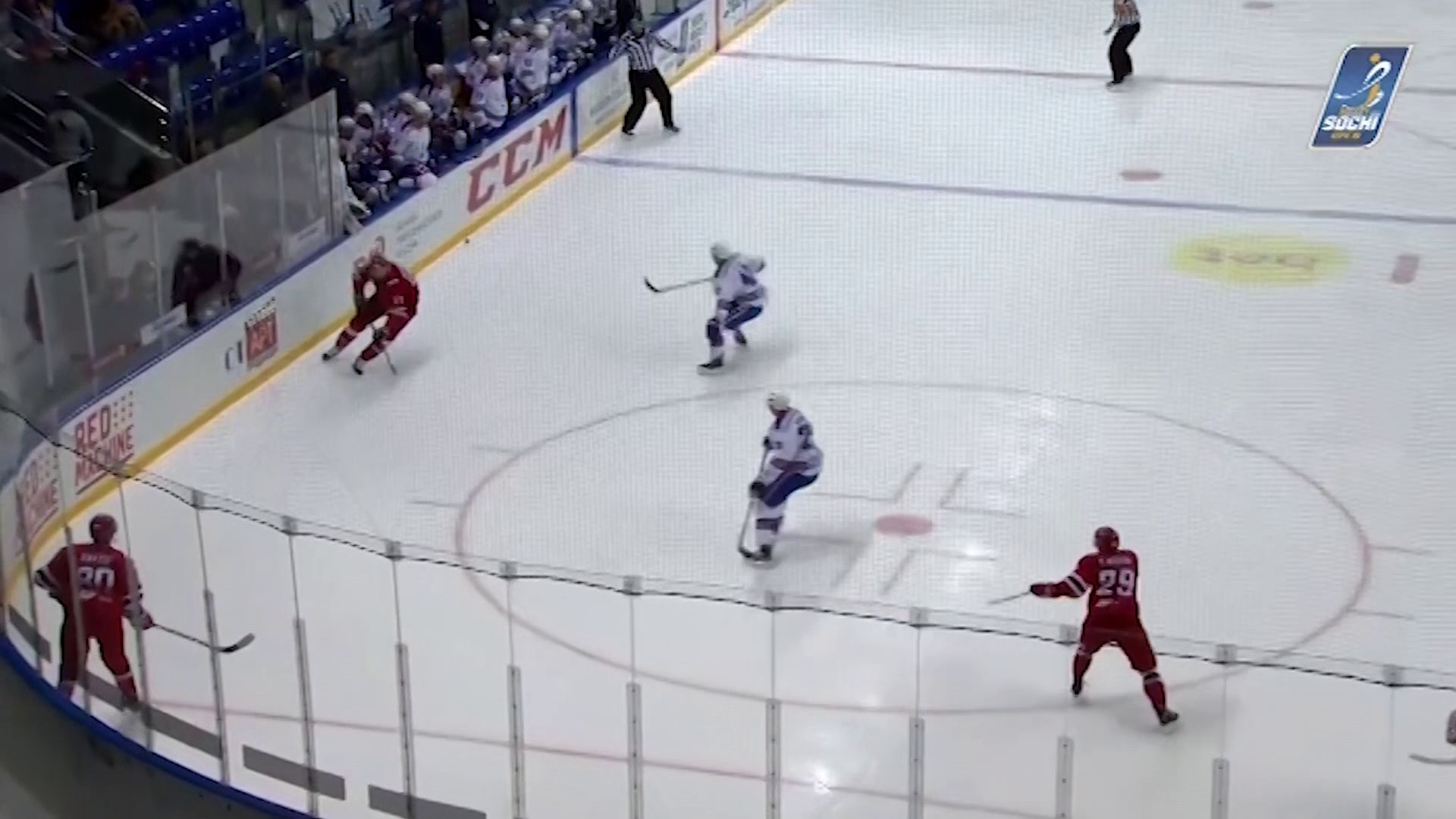 Ярославский «Локомотив» выиграл предсезонный турнир «Sochi Hockey Open»