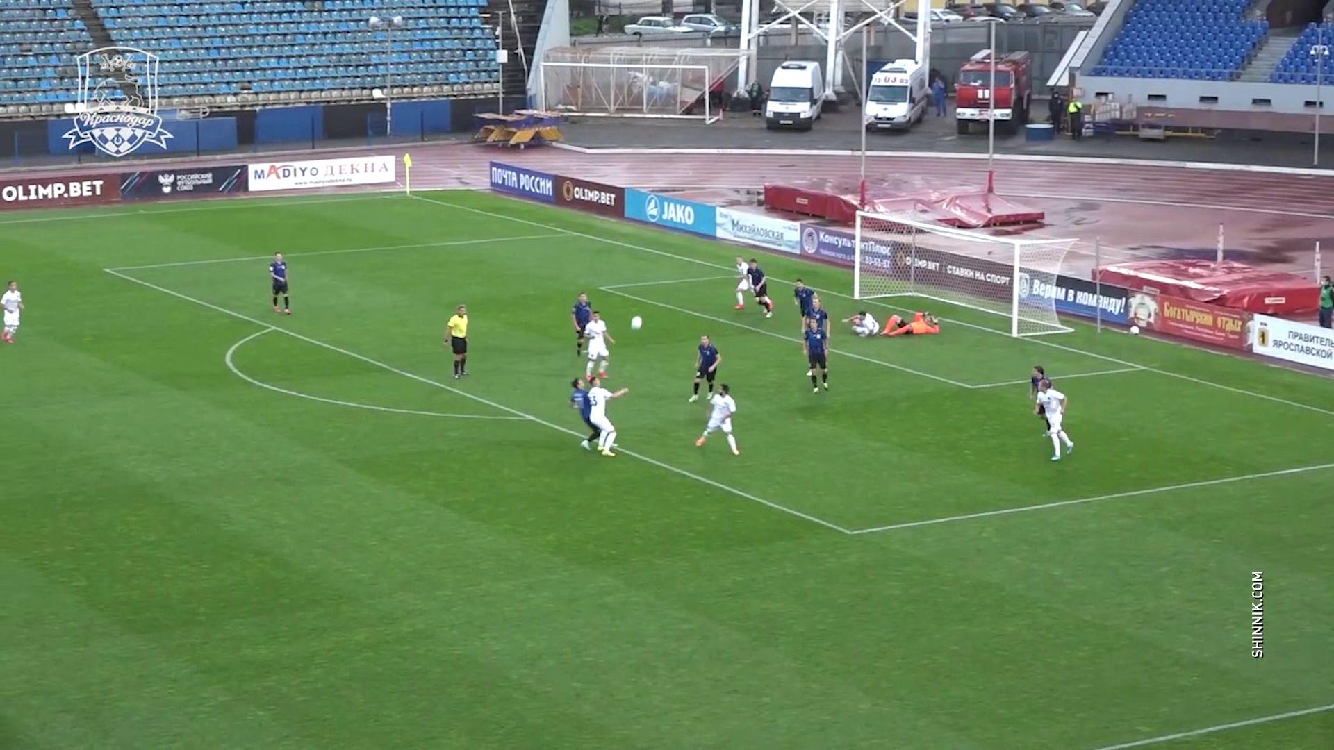 Матч между «Шинником» и «Краснодаром–2» прошел без единого гола
