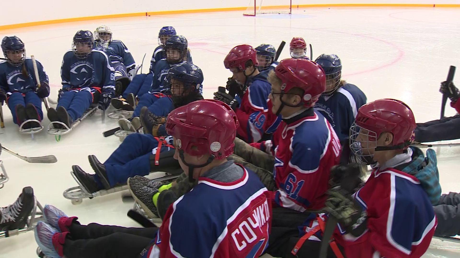 Дмитрий Миронов пригласил специалистов из Москвы по следж–хоккею для детей с особенностями в развитии