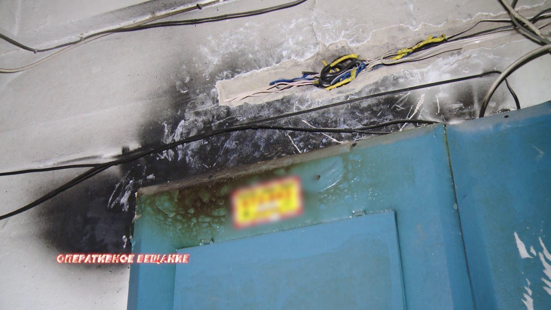 В пожаре на Архангельском проезде пострадали пенсионеры