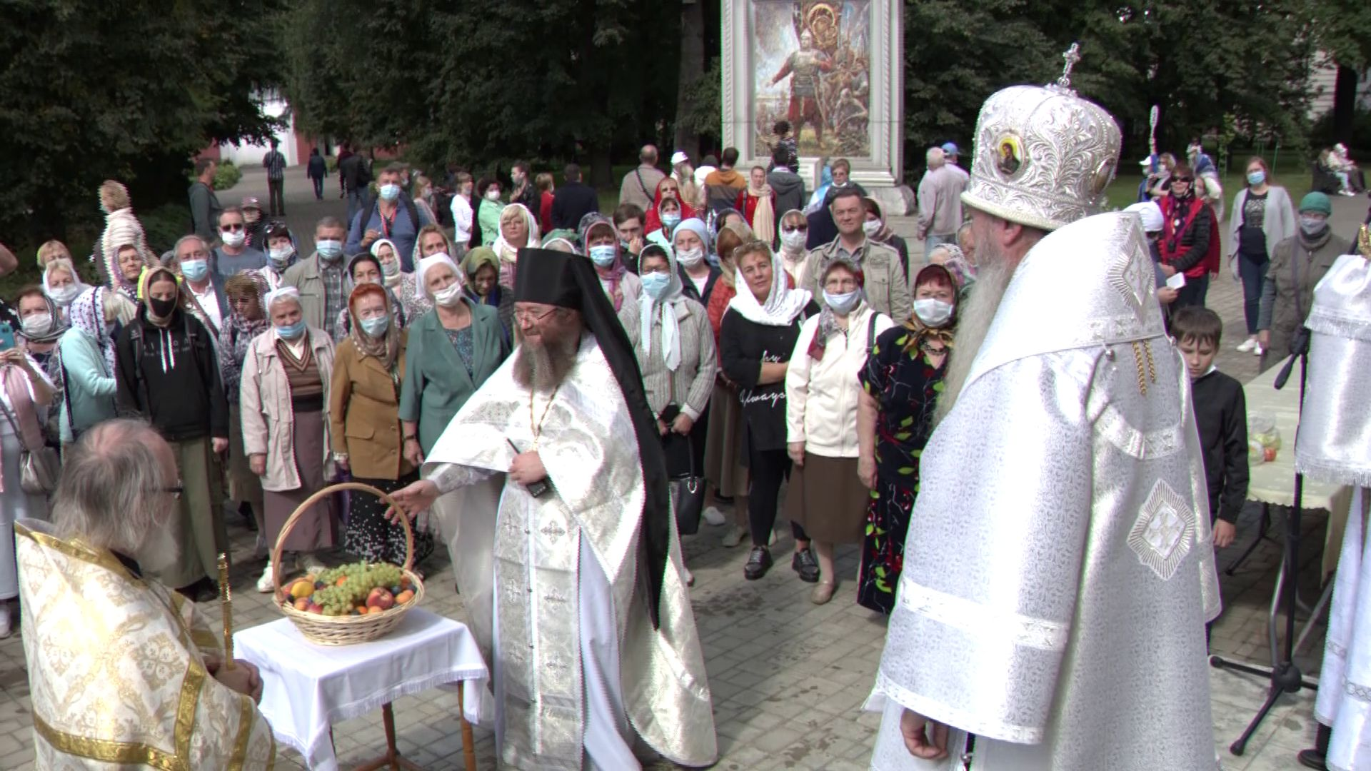 В Ярославле отпраздновали Яблочный Спас