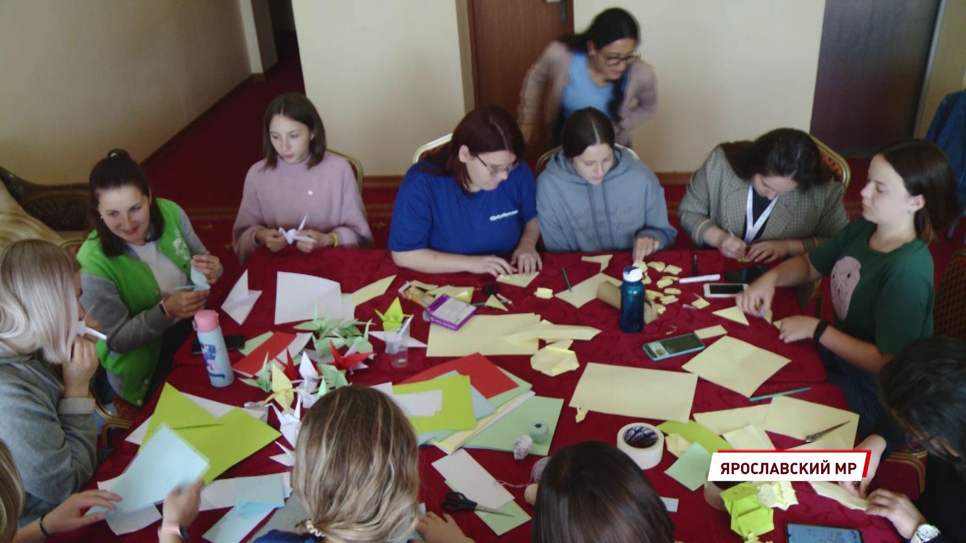 В Ярославской области проходит областная смена для волонтеров «Добровольцы Ярославии»