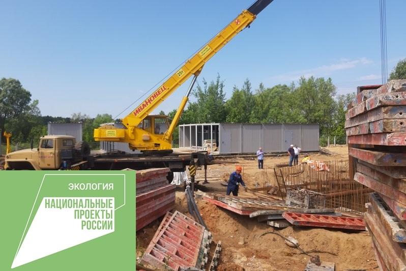 В поселке Судоверфь скоро заработают новые очистные сооружения