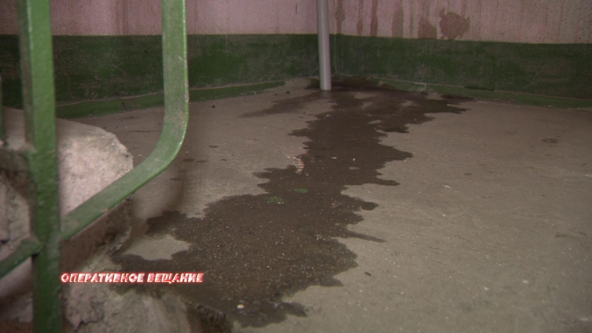 В Красноперекопском районе в доме затопило несколько этажей