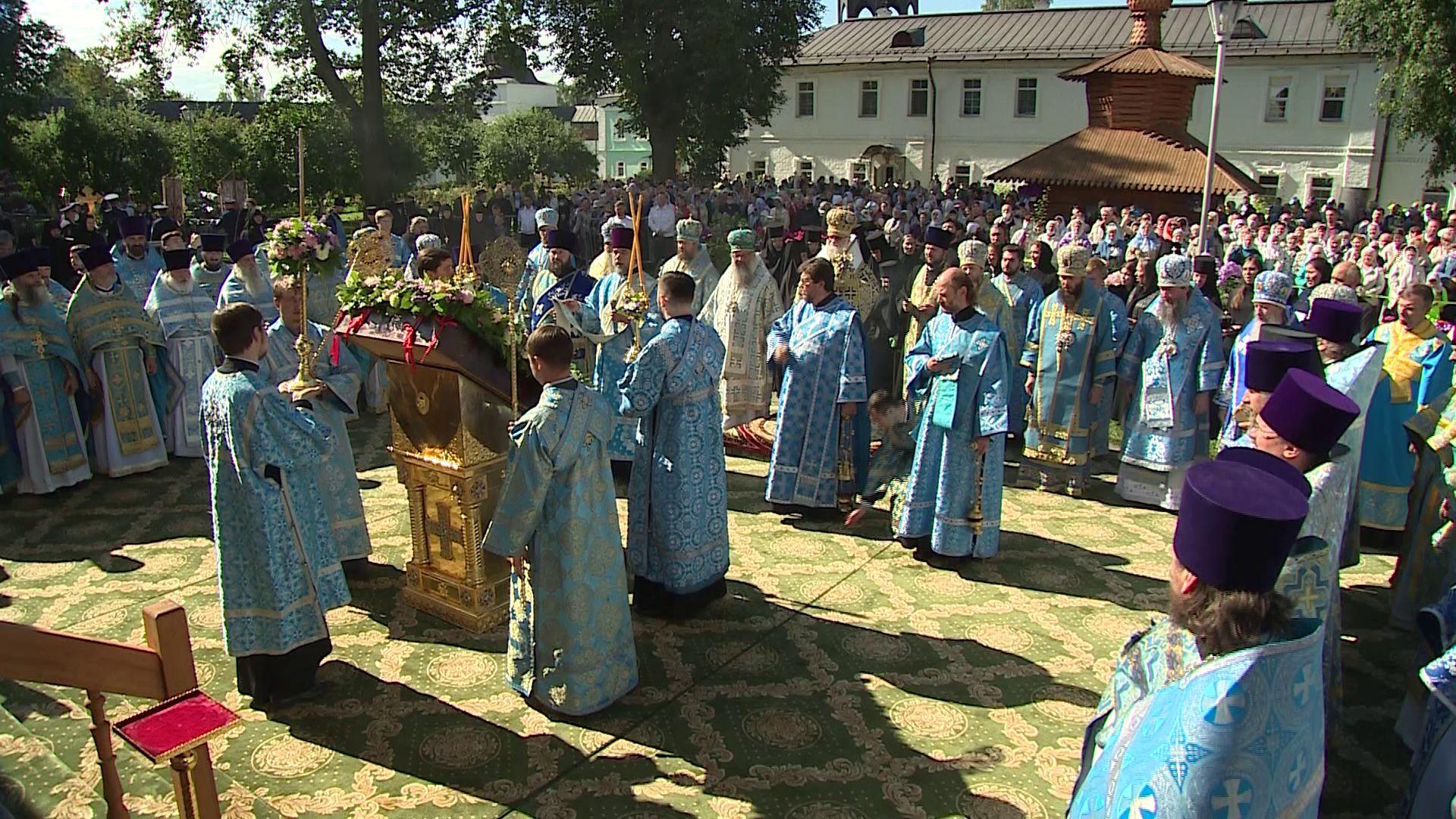 Ярославская область отмечает день Толгской иконы Божьей матери