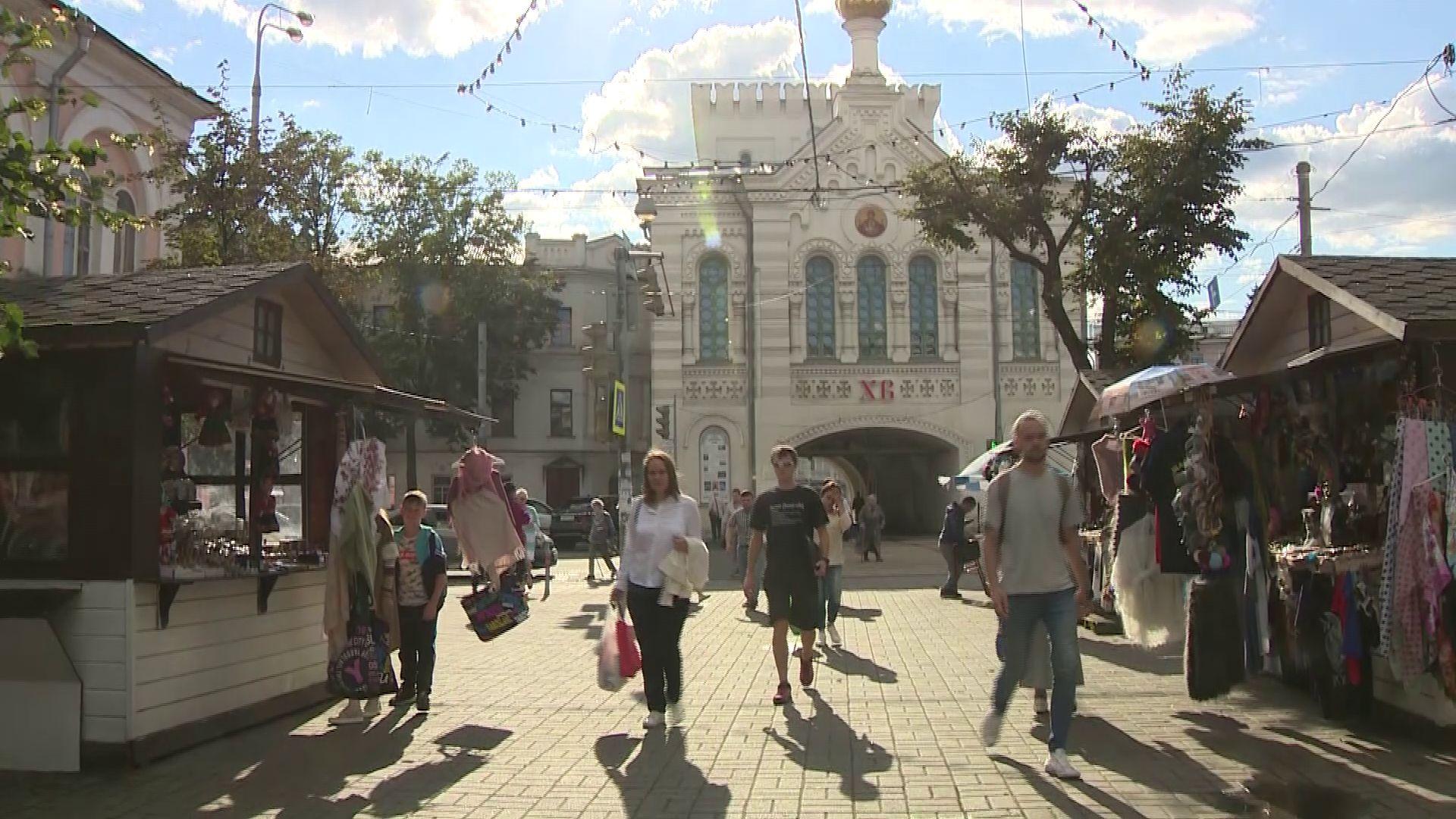 В Ярославле будут раздавать ленты с триколором