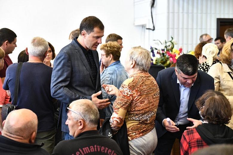 """Владимир Волков: """"Никто из жильцов дома на Батова не останется один на один с проблемами"""""""
