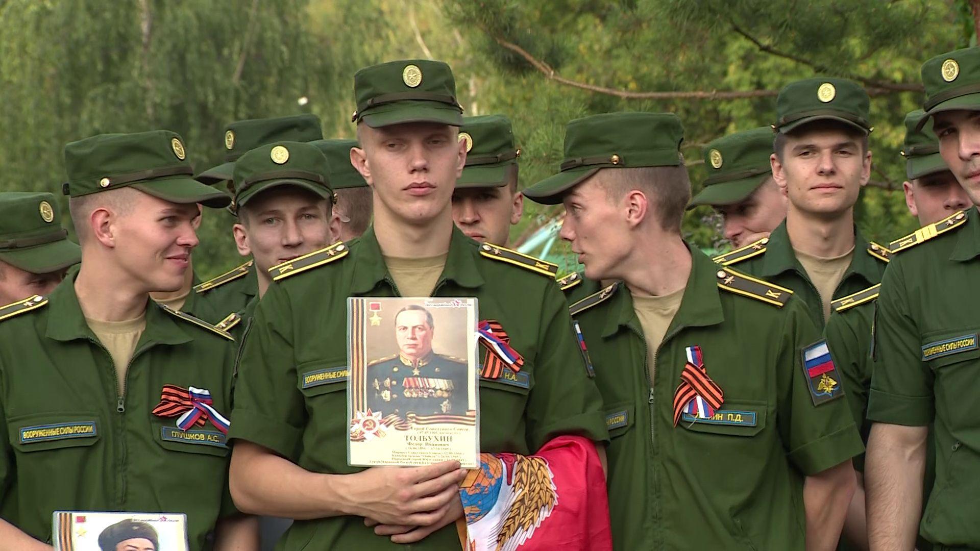 В Ярославле на улицах, названных именами Героев Советского Союза, проходят торжественные мероприятия