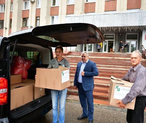 В Ярославль доставили гуманитарную помощь из Гаврилов-Яма
