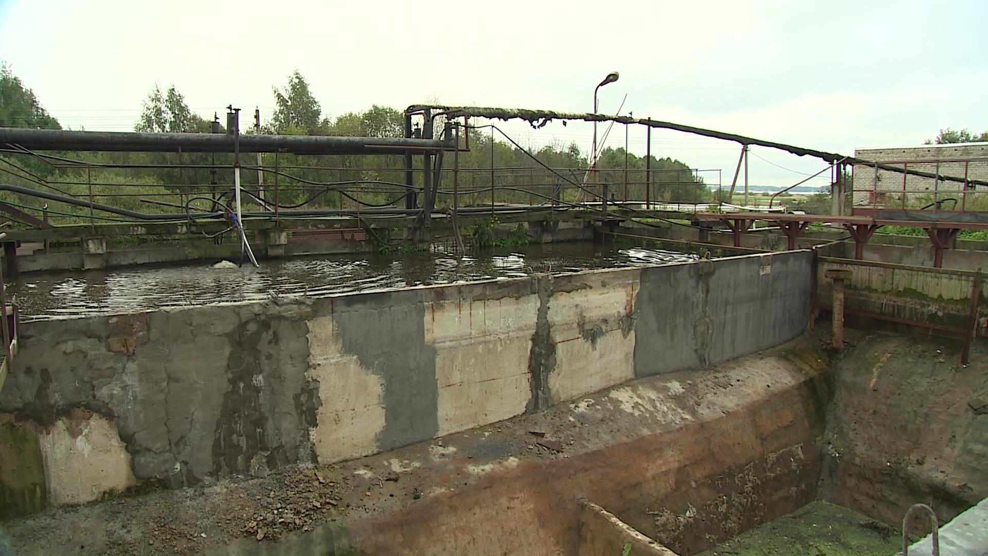 В посёлке Каменники Рыбинского района завершается реконструкция очистных сооружений