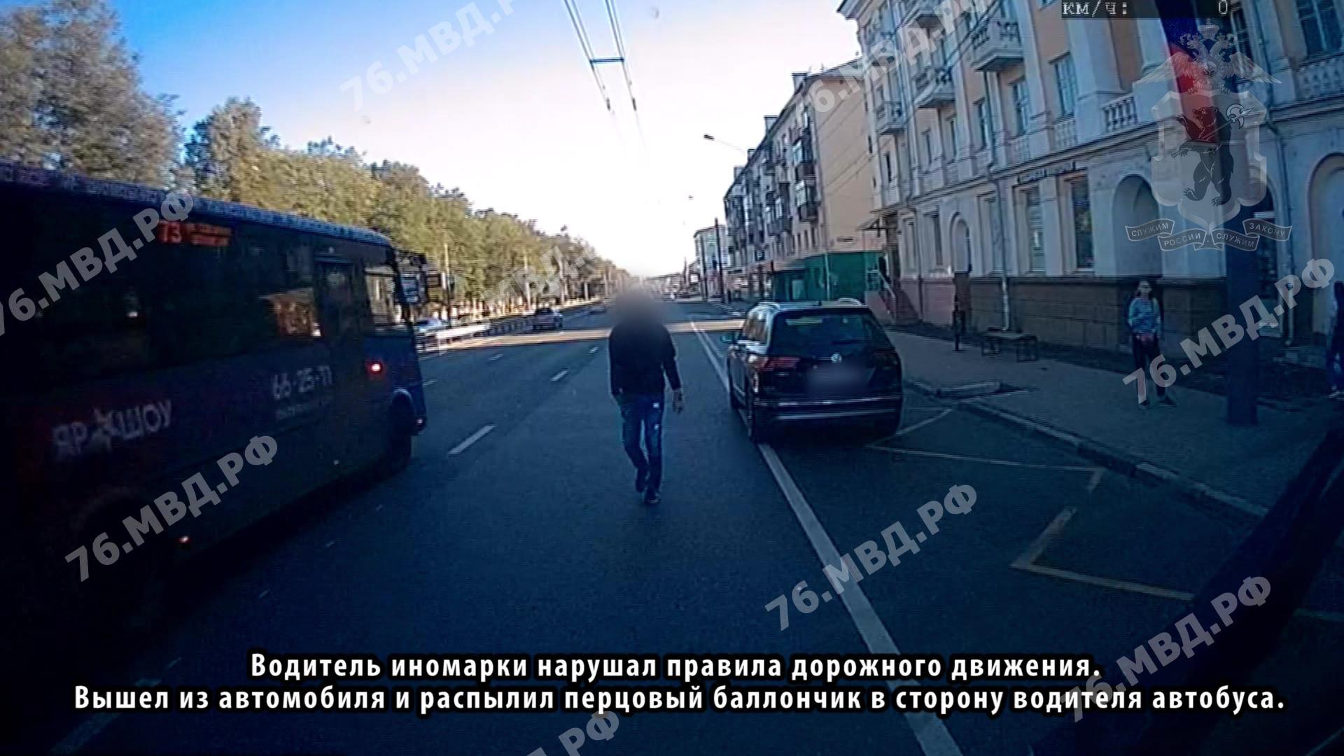Мужчина, распыливший баллончик в лицо водителя маршрутки, будет отвечать за хулиганство