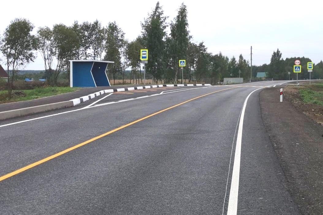 В Ярославской области отремонтировали два участка трассы Ярославль – Тутаев