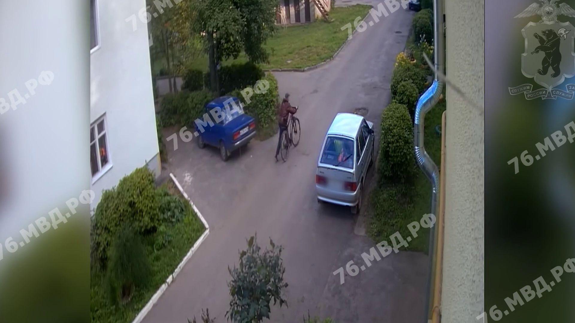 В Данилове поймали вора велосипеда