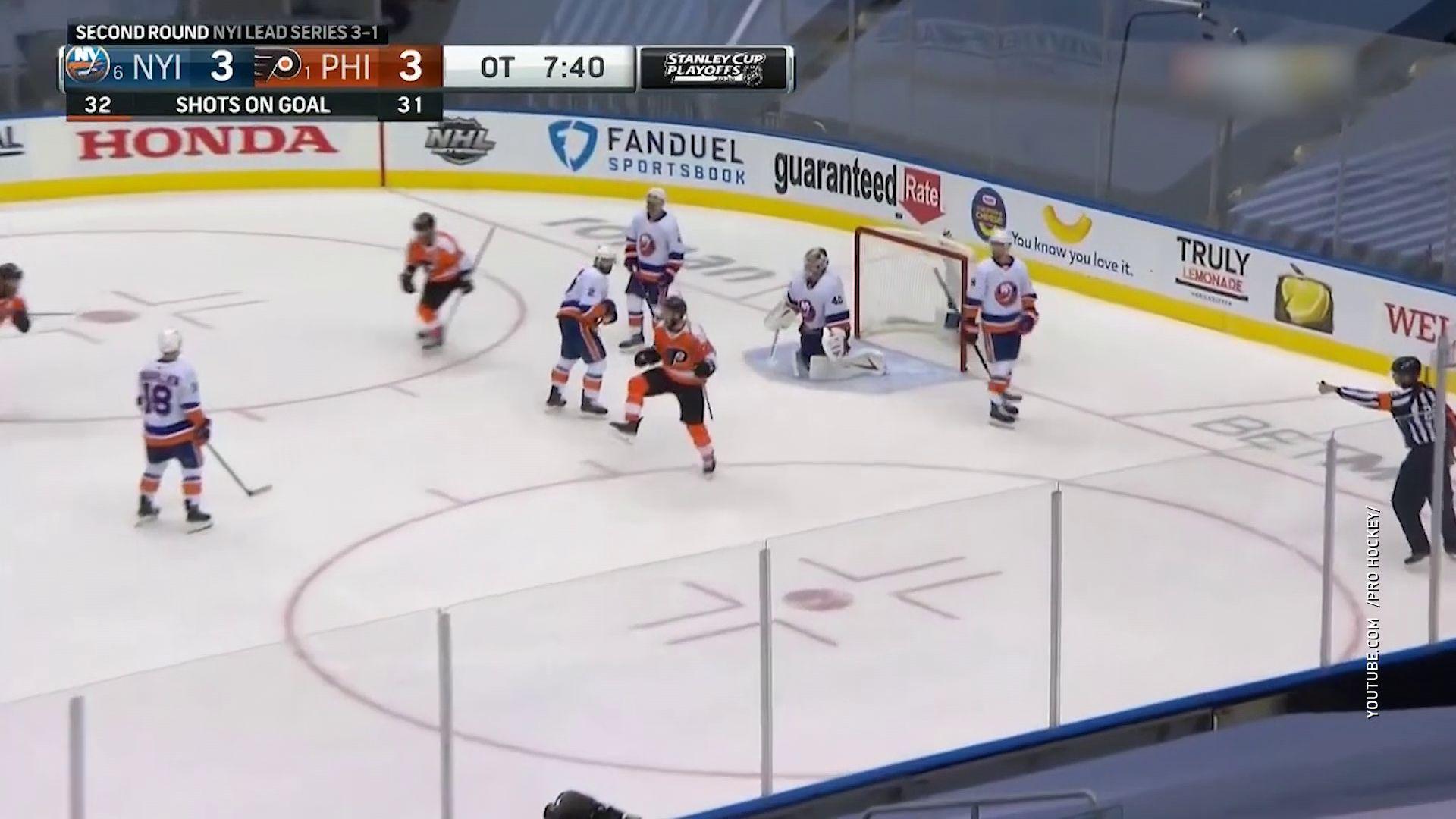 Благодаря ярославцу «Филадельфия» осталась в серии НХЛ