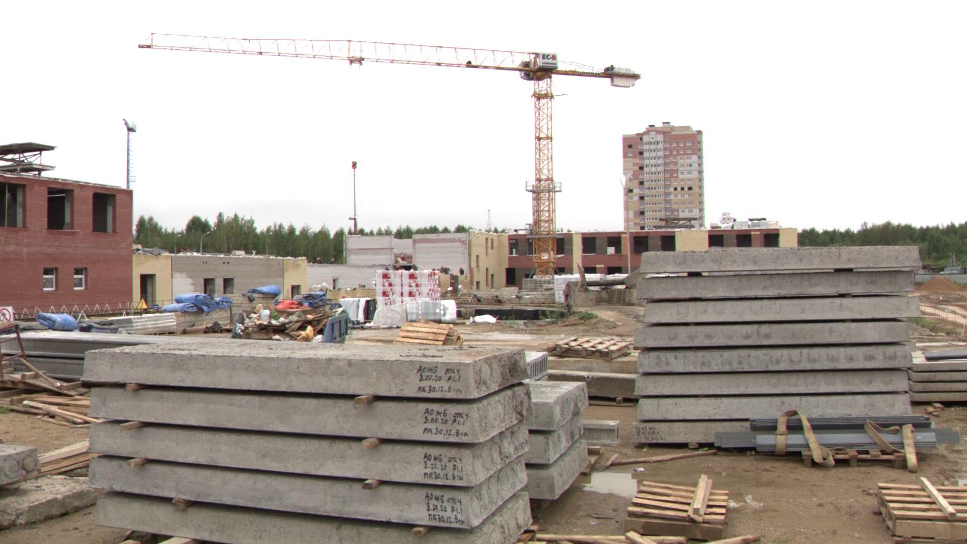 На Соколе строят новую школу за 500 миллионов рублей