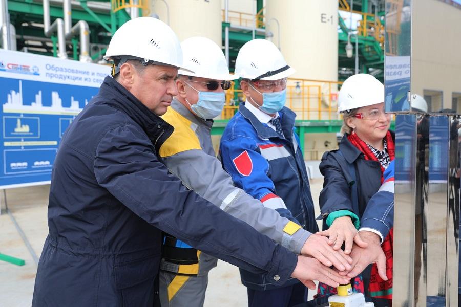На предприятии «Славнефть-ЯНОС» при участии Дмитрия Миронова запустили новую установку