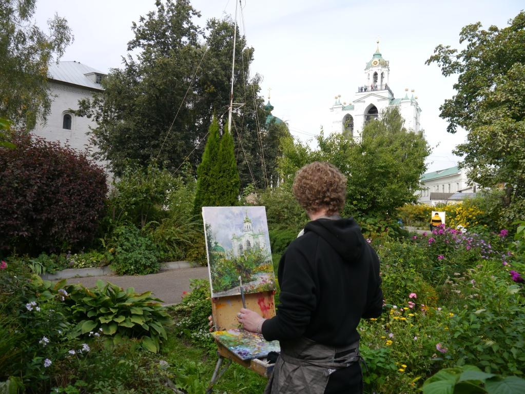Ярославцы нарисовали картины, посвященные музею-заповеднику