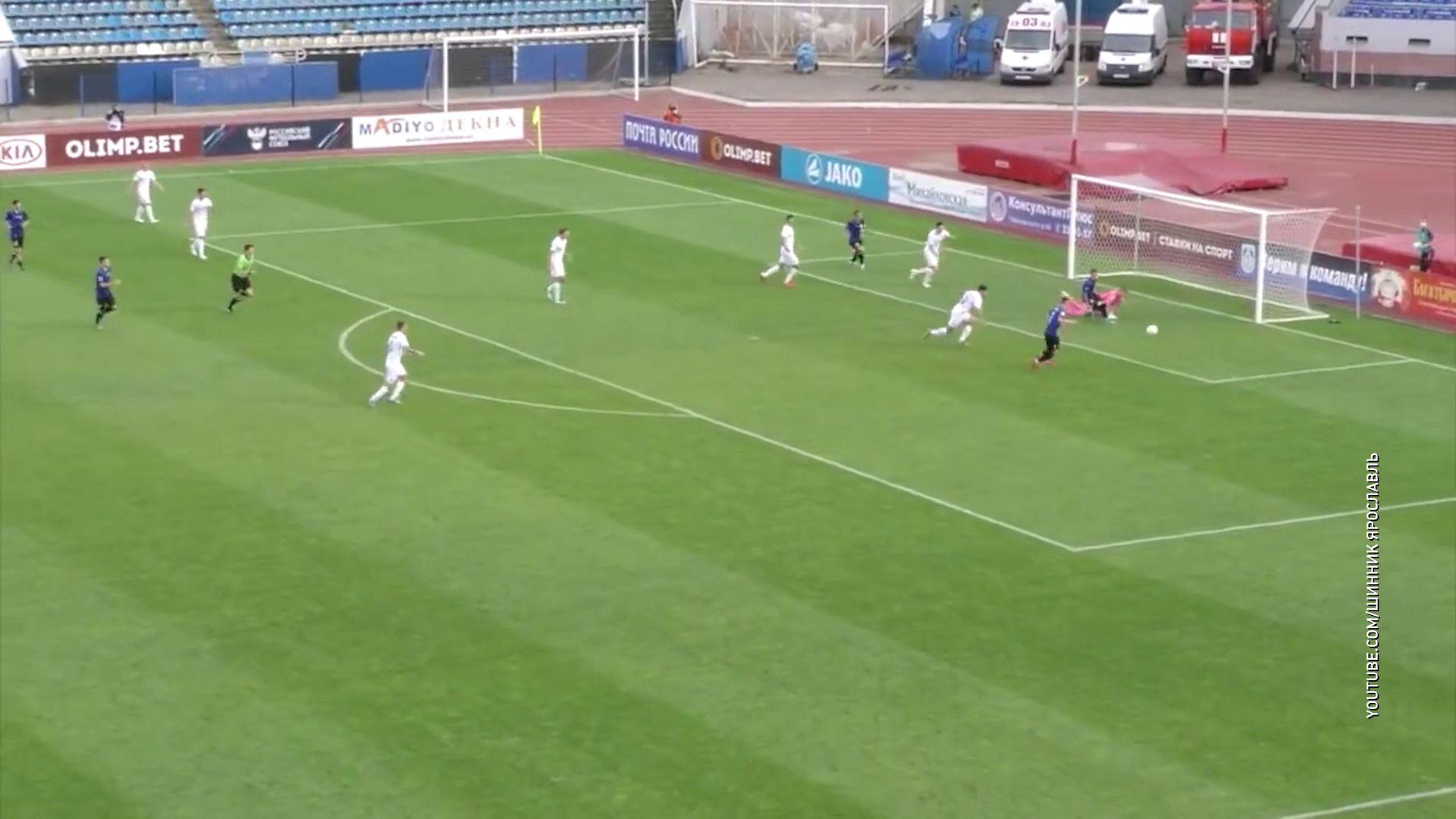 «Шинник» сыграл вничью в домашнем матче с «Чайкой»