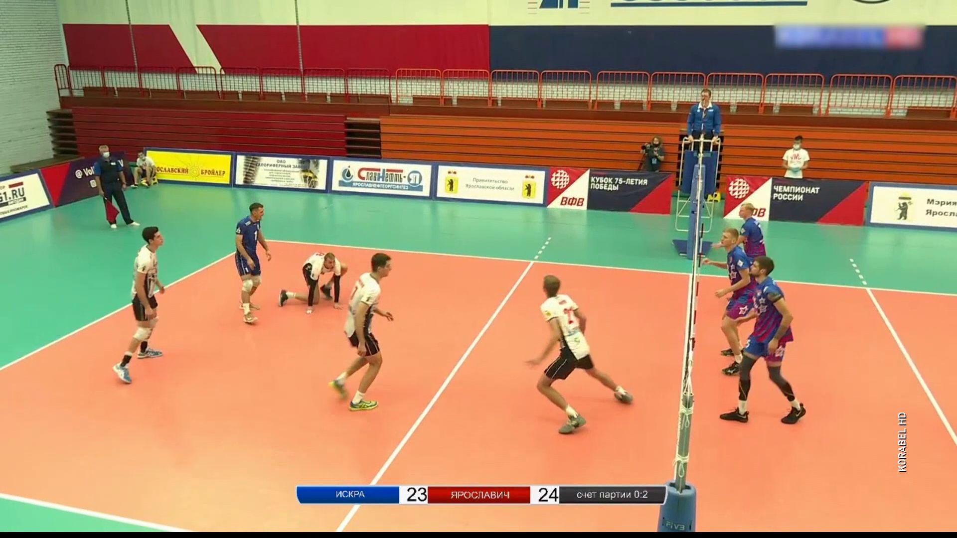 «Ярославич» победил «Искру» на домашнем этапе Кубка России