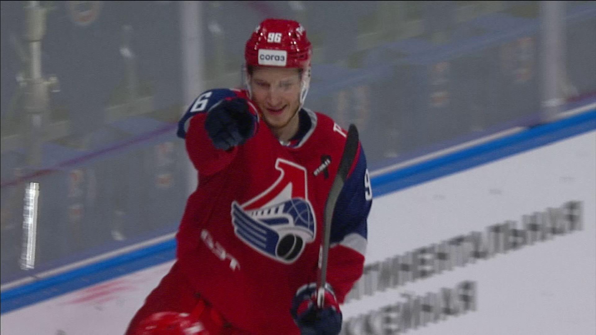 Нападающий «Локомотива» стал автором лучшего гола прошедшей недели в КХЛ