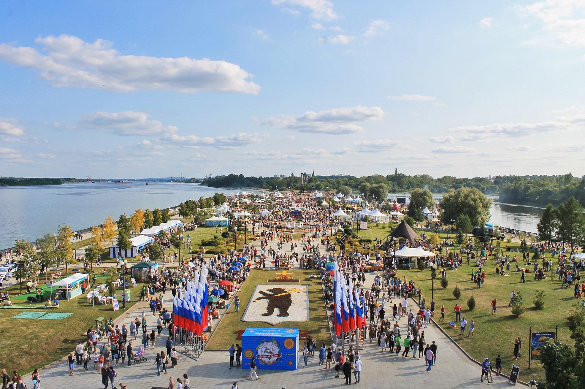 «Пир на Волге» и другие: в День города в Ярославле пройдут 14 фестивалей