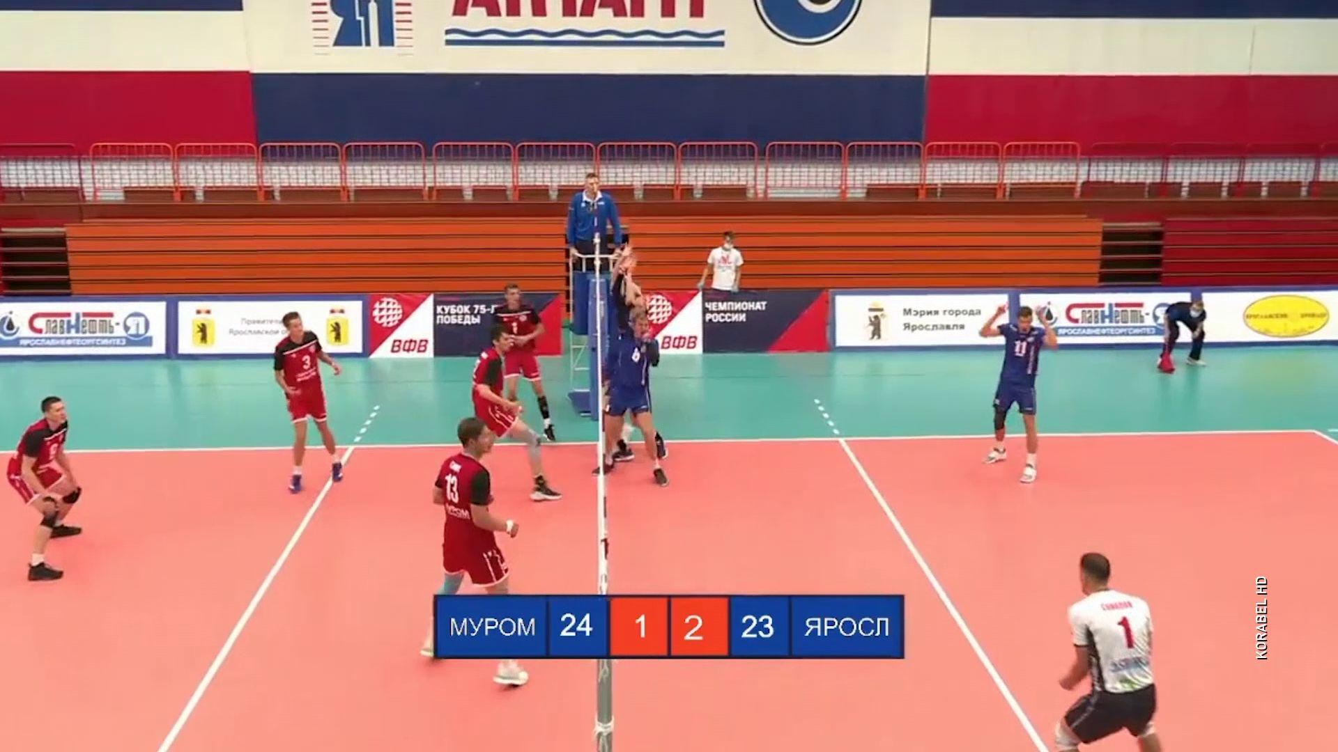 «Ярославич» одержал вторую победу на домашнем этапе кубка 75-летия Победы