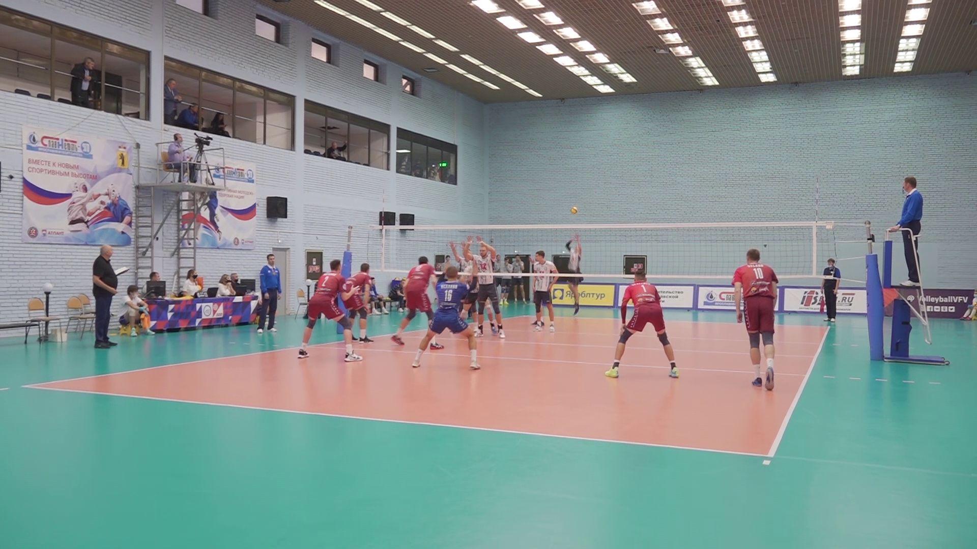 Волейбольный «Ярославич» проиграл на домашнем этапе Кубка 75–летия Победы