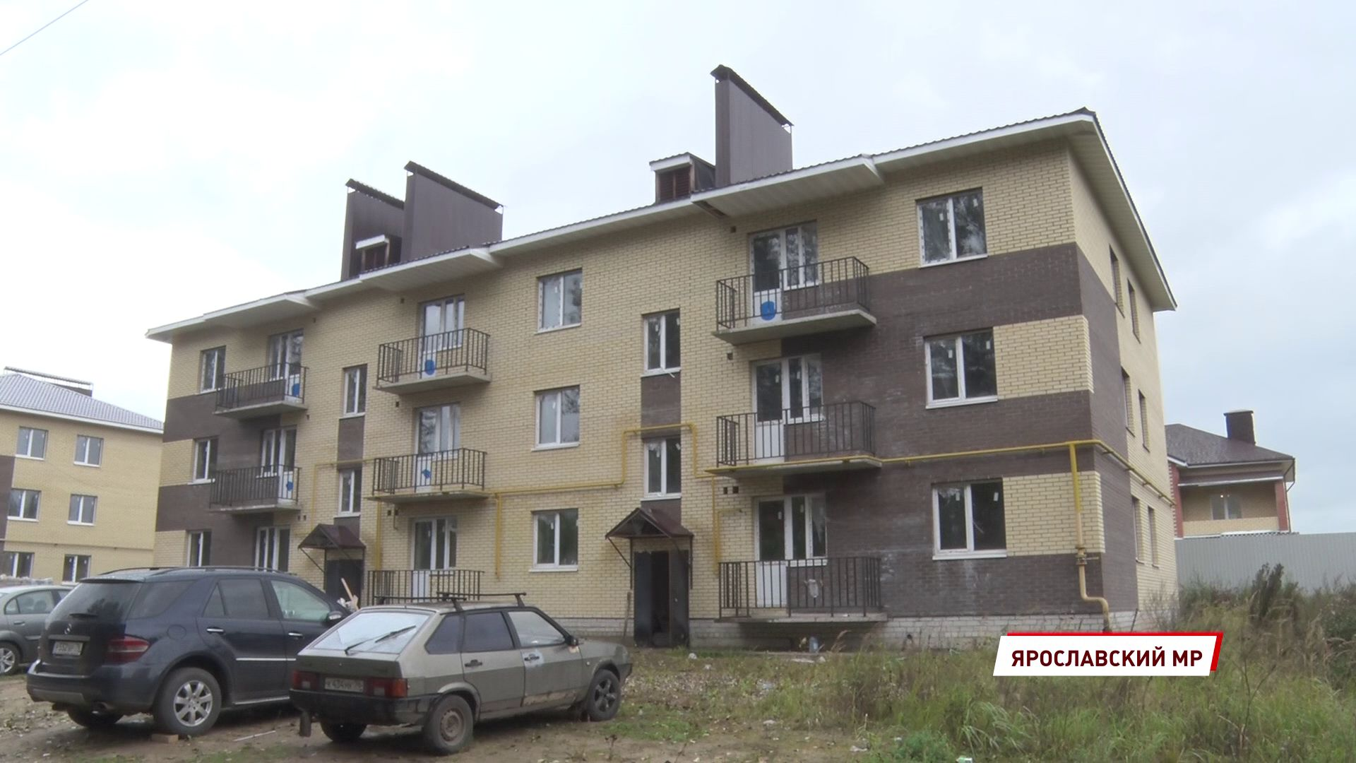 В Ярославской области возобновилась работа на двух недостроях