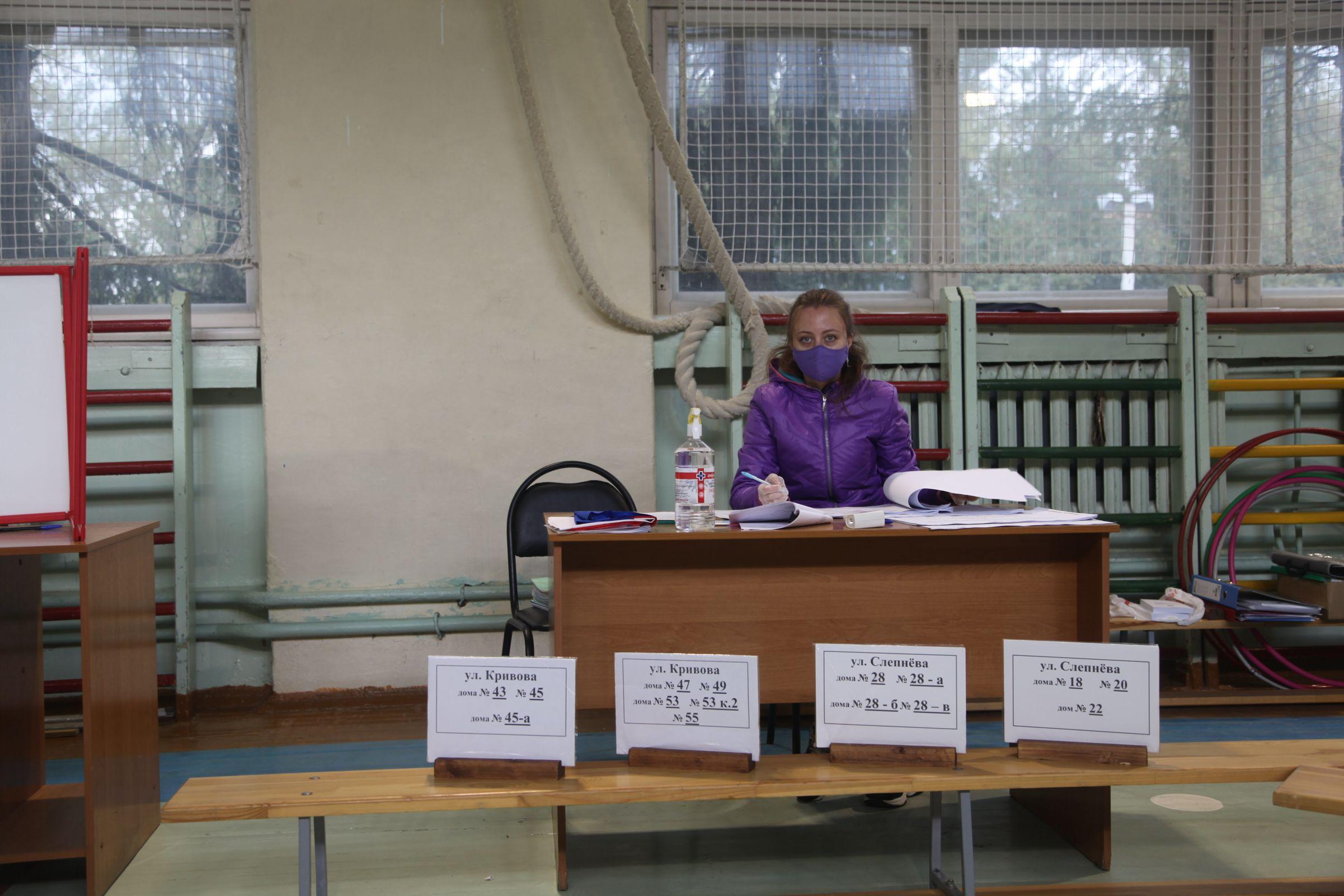 Глава областного избиркома: «Жалоб и нареканий на работу избирательных комиссий не поступало»