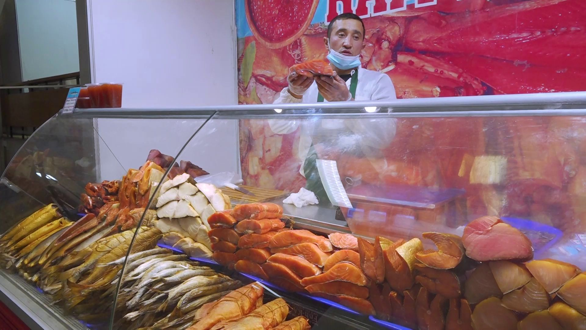 В Ярославль приехала выставка рыбы с Дальнего Востока