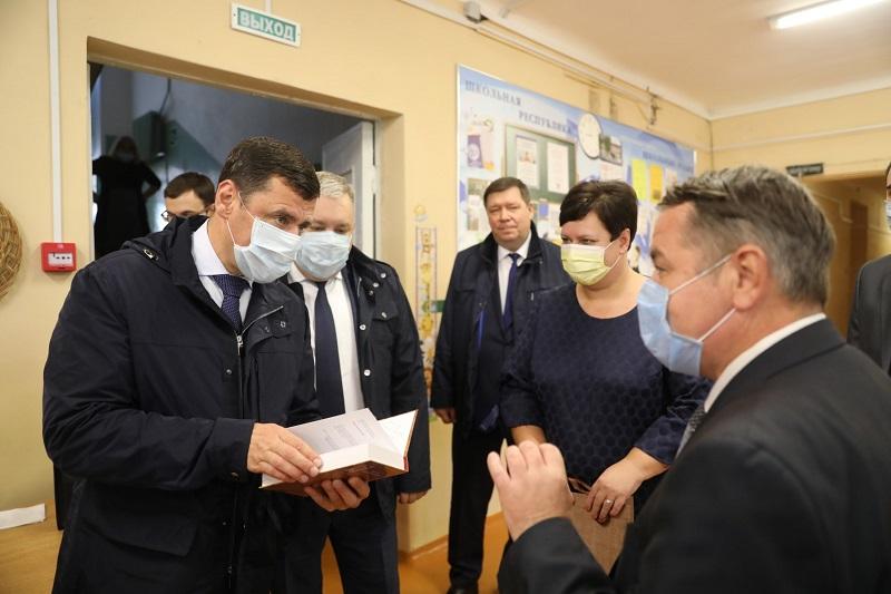 Дмитрий Миронов встретился с главой Гаврилов-Ямского района
