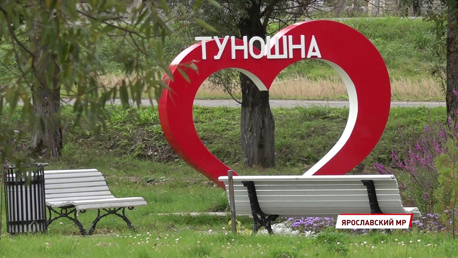 В Туношне идет четвертый этап благоустройства парка