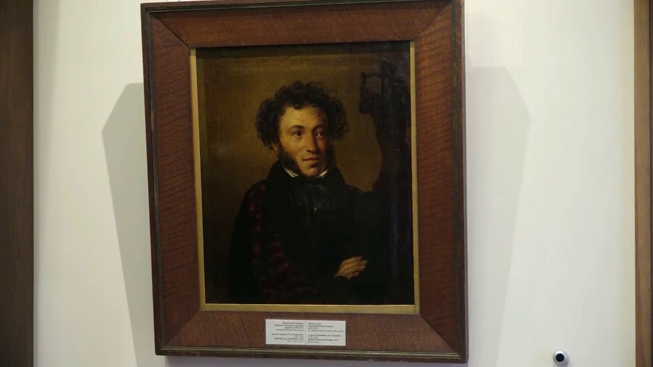 В Ярославском художественном музее появилась копия знаменитого портрета Пушкина