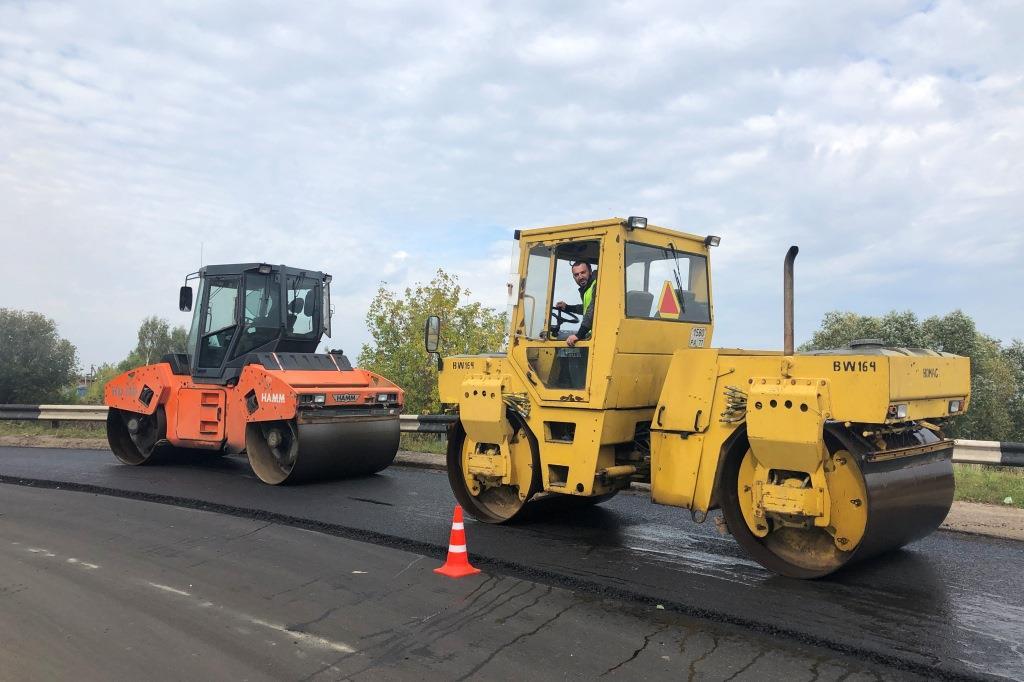 В Ярославской области подходит к концу ремонт дороги Ростов – Иваново – Нижний Новгород