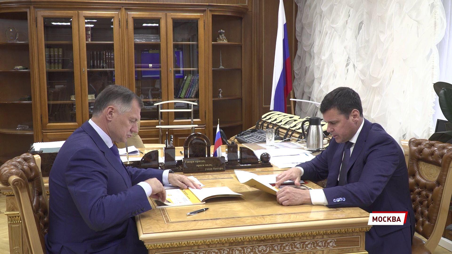 Дмитрий Миронов обсудил нацпроекты с заместителем правительства России