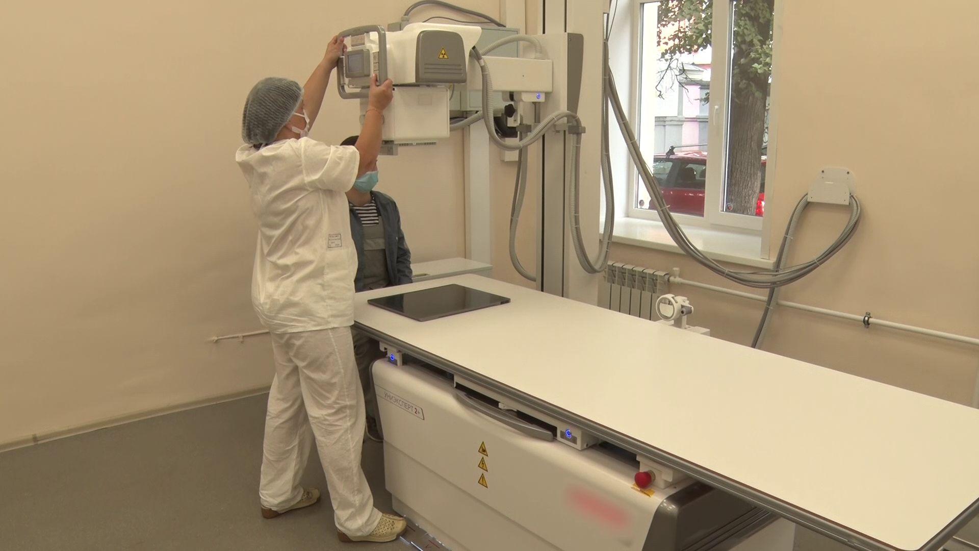 В травмпункте Соловьевской больницы появился новый рентген