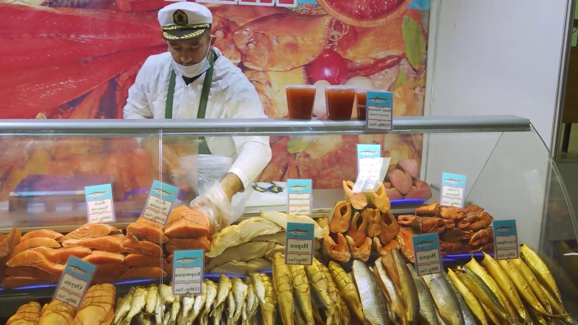 Камчатские деликатесы на выставке в Ярославле можно увидеть до конца недели