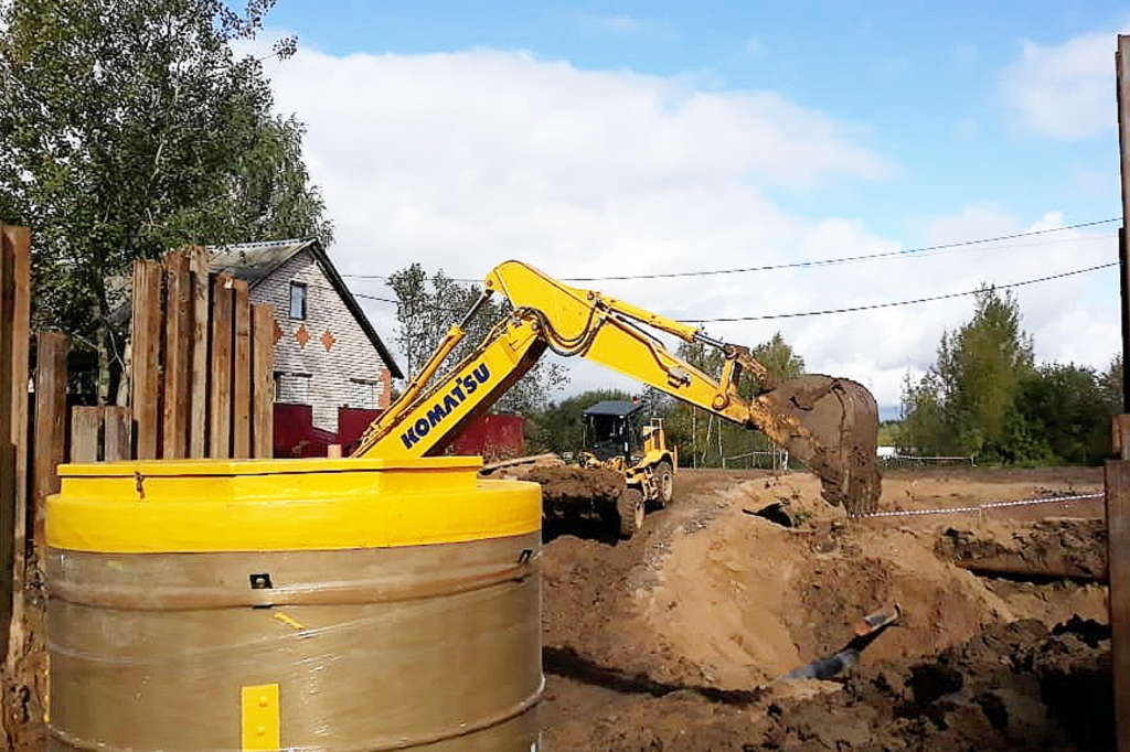 В Угличском районе модернизируют систему канализации