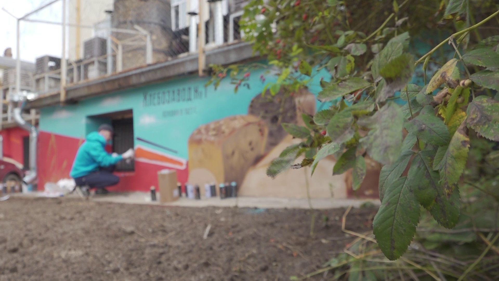 Ярославские художники граффити завершили создание панно