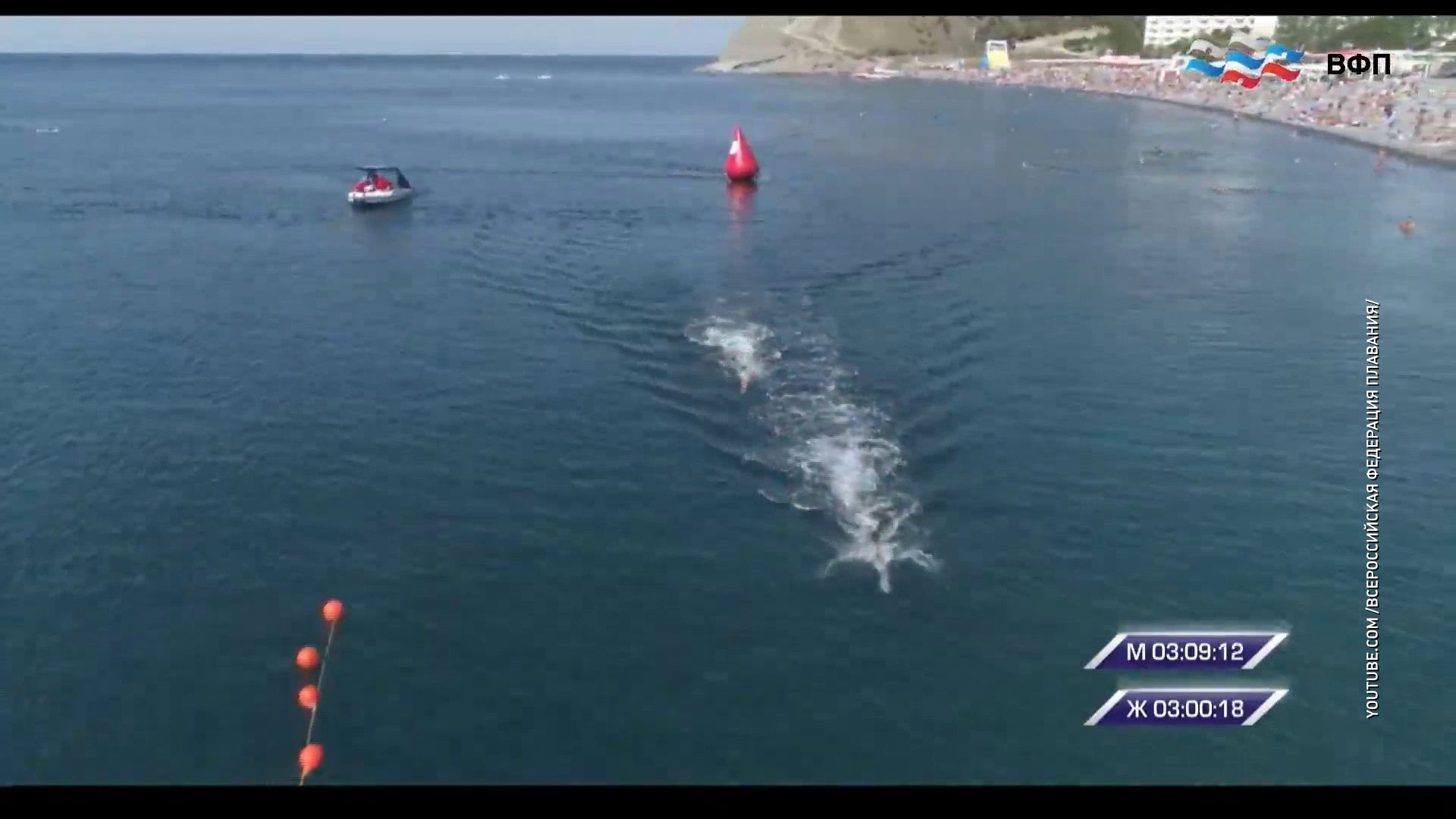 Ярославские пловцы на открытой воде стали триумфаторами заплыва на Чемпионате страны
