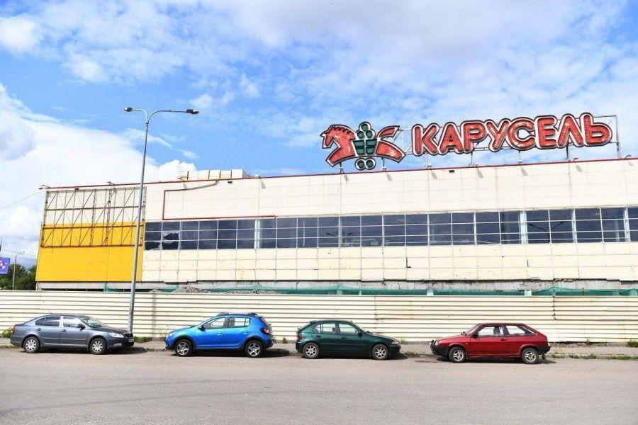 Стало известно, как благоустроят территорию у нового торгового центра на Малой Пролетарской