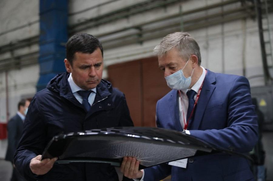 Дмитрий Миронов: «В Ярославской области будут производить самые мощные в России снегоходы»