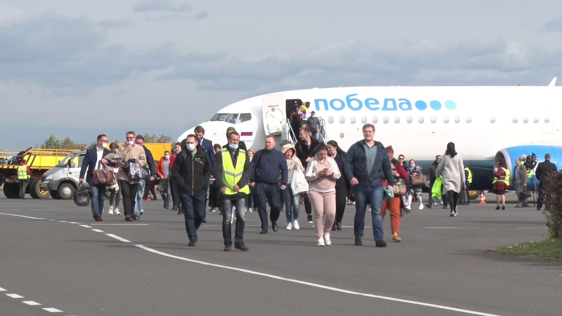 В Ярославле состоялся первый рейс популярного российского лоукостера