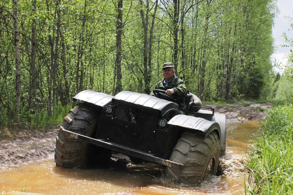 Ярославский почтальон на вездеходе стал участником Всероссийского проекта «Героям – быть!»