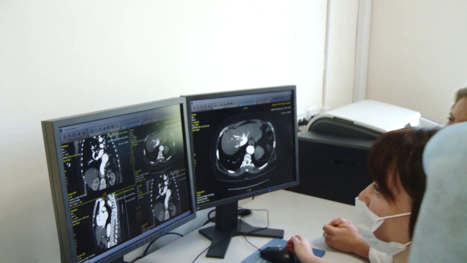В областной детской клинической больнице появился новый томограф